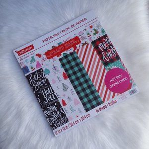 New! Holiday Cute & Cozy Paper Pad by Craft Smart